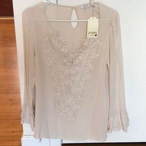 Almond color blouse
